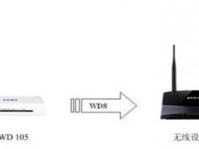 迅捷FWD105无线路由桥接怎么设置