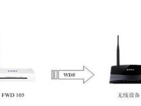 迅捷Fast FWD105无线wifi桥接怎么设置