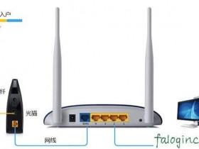 迅捷wifi和猫之间怎么连图解