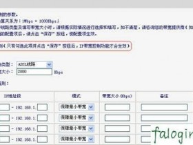 fastwifiip带宽限制